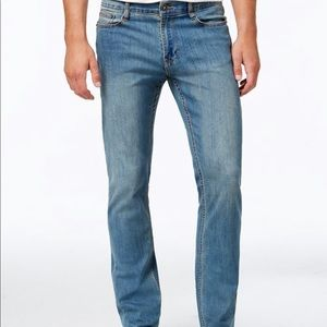 Ring OF Fire Mens Skyline Wash Skinny Jeans